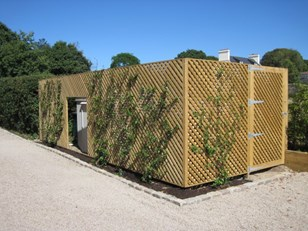The Fencing Centre Trellis available in Square & Diamond Image