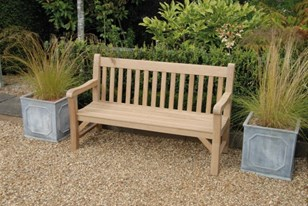 Oak Bench Image