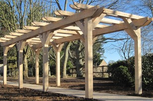 Custom Made Pergola Image
